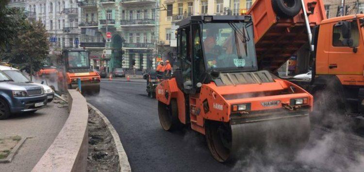 У Києві до середини літа відремонтують одну з головних доріг