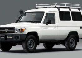 Тойота выпустила авто для перевозки вакцин от коронавируса