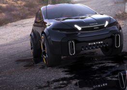 Чеський дизайнер показав своє бачення нового Dacia Duster