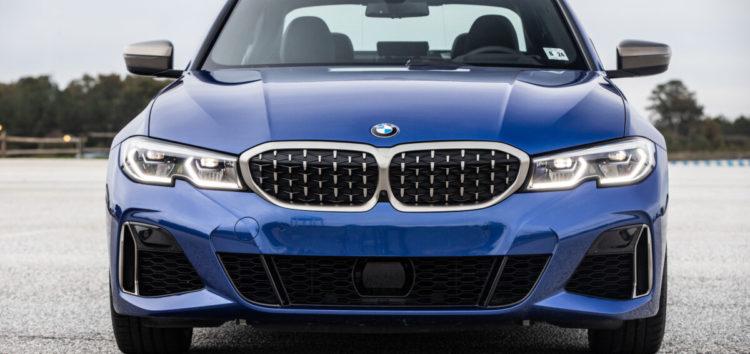Оновлений BMW 3-ї серії вивезли на випробування