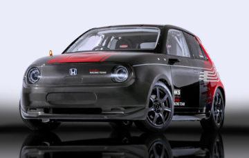 Електрокар Honda e перетворили в гоночний автомобіль