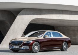 Mercedes представив спрощену версію Mercedes-Maybach S-Class