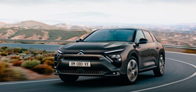 Citroen представила нову гібридну модель C5 X
