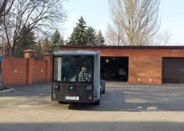 Першу українську електровантажівку CoolOn вивезли на тести