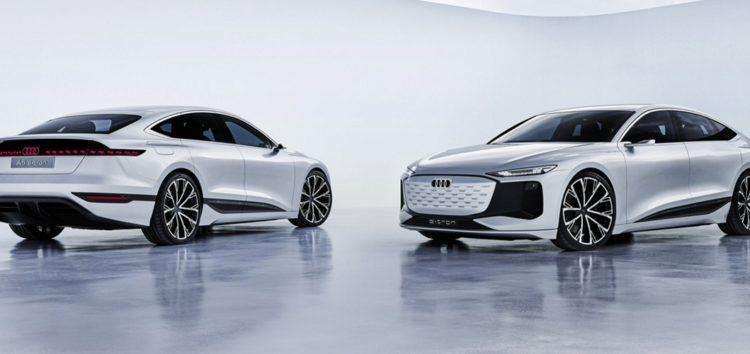 Audi представила седан А6 E-Tron з запасом ходу 700 км