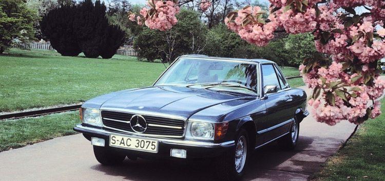 Легендарний родстер Mercedes-Benz 350 SL відсвяткував свій ювілей