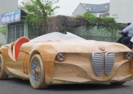 В'єтнамський майстер представив дерев'яний родстер BMW 328 Hommage