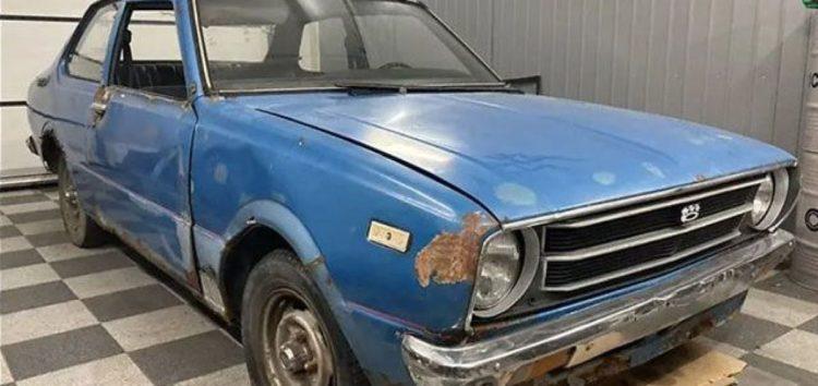Рідкісну Toyota Corolla виставили на продаж за 850 доларів