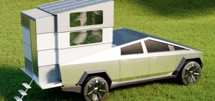 Tesla представила нову версію пікапа Cybertruck з кухнею і ванною кімнатою