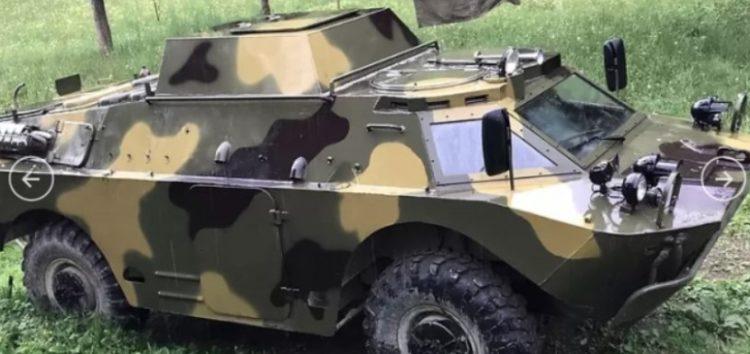 В Україні недорого продають броньовик