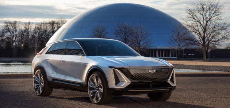 Cadillac показав фото електромобіля Lyriq