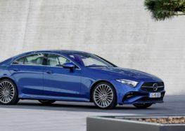 Mercedes представив оновлену CLS