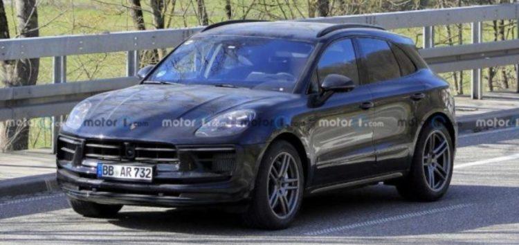 В тесті помітили прототип нового Porsche Macan