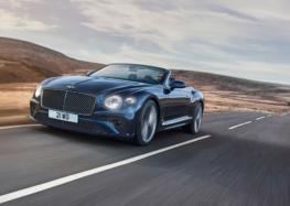 На ринок вийшов найшвидший кабріолет Bentley