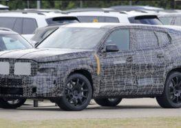 Найбільший BMW X8 вперше піймали в русі (відео)