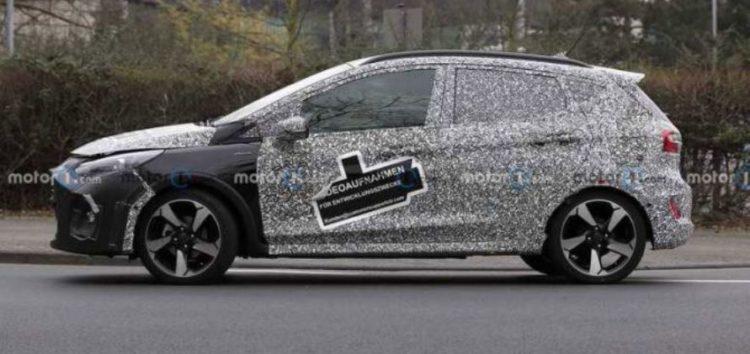 Рестайлінговий Ford Fiesta помітили під час випробувань