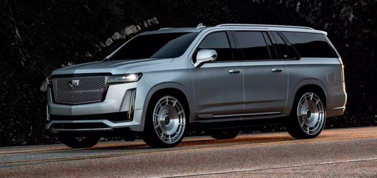 Показаний Cadillac Escalade ESV для Кім Кардашьян