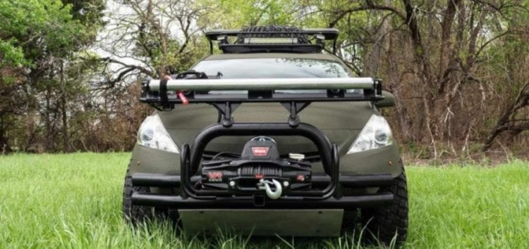 Prius став екстремальним авто для полювання