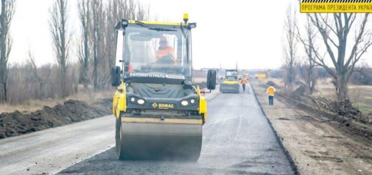 Трасу Знам'янка-Луганськ-Ізварине почали ремонтувати