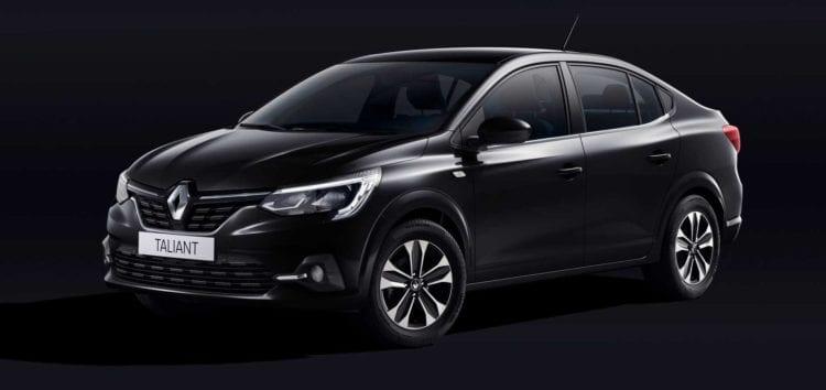 Renault показав інтер'єр своєї бюджетної новинки Taliant