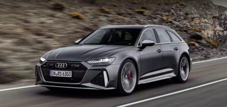 Audi RS6 Avant випробували на автобані (відео)