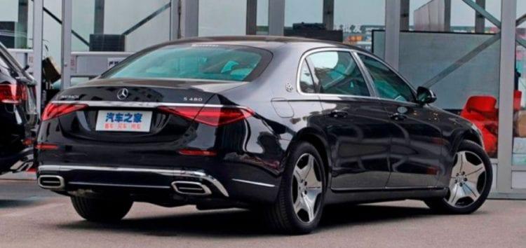 Выпустили бюджетную версию Mercedes-Maybach S-Class