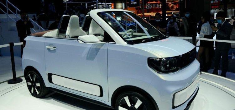 Wuling Automobile показали електричний кабріолет