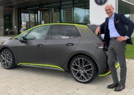 Volkswagen представив новий електрокар ID X