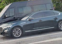 Фотошпигуни розсекретили новий седан KIA K9 2022 модельного року