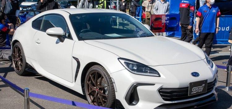 Subaru показала нове спорткупе в тюнінгу STI