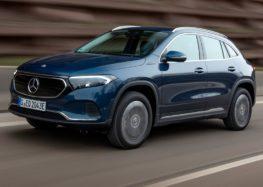 Mercedes-Benz представив 2 повнопривідних варіанти EQA