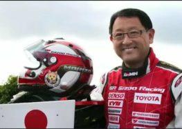 Глава Toyota брав участь у перегонах у 65 років