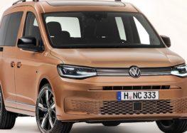 У Києві показали новинку Volkswagen Caddy