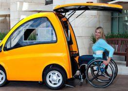 В Угорщині випустили електрокар для людей з інвалідністю
