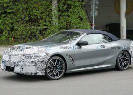 Фотошпигуни помітили оновлений кабріолет BMW 8-Series