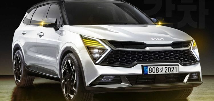 Оновлений Kia Sportage 2022 показали без камуфляжу