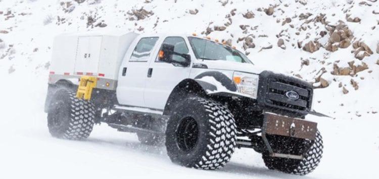 Ford показав найбільший поштовий всюдихід