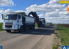 У Запорізькій області ремонтують трасу Т-08-20 Якимівка – Кирилівка