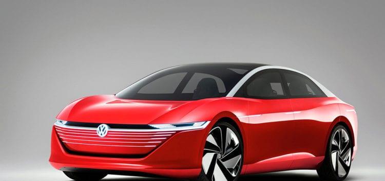 Компанія Volkswagen показала перші фотографії седану ID.7