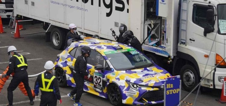 Toyota Corolla став першим водневим автомобілем, який брав участь в 24-годинній гонці