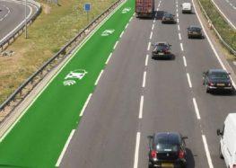 В Італії побудують відрізок дороги для безконтактної зарядки електрокарів