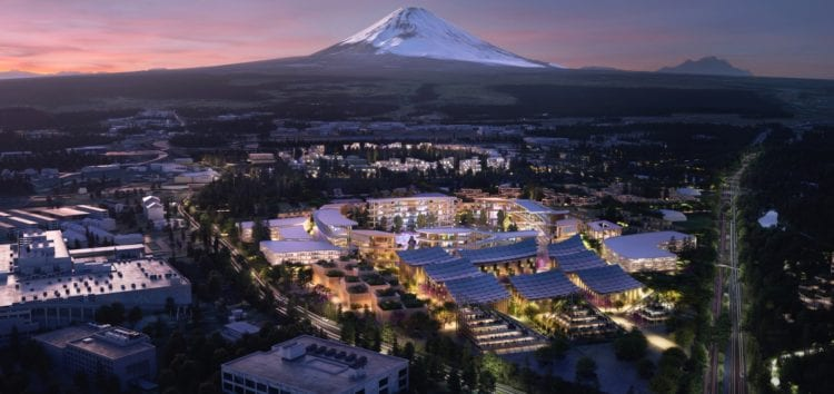 Тойота побудує Woven City з екосистемою на водневих паливних елементах
