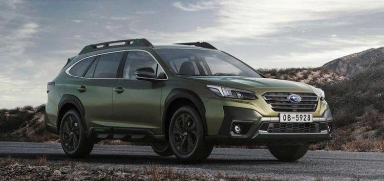 Subaru Outback шостого покоління з'явився на українському ринку