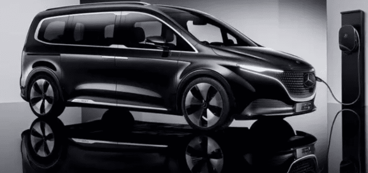 Представлений електроконцепт мінівену Mercedes-Benz EQT