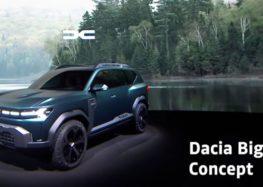 Компанія Dacia виставила рендери кросоверу Bigster