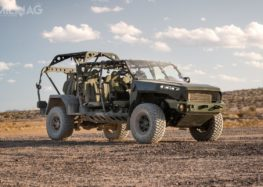 GM Defense продемонструвала електромобіль ISV