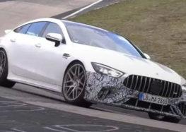 Прототип Mercedes-AMG GT 73e побачили на Нюрбургринзі