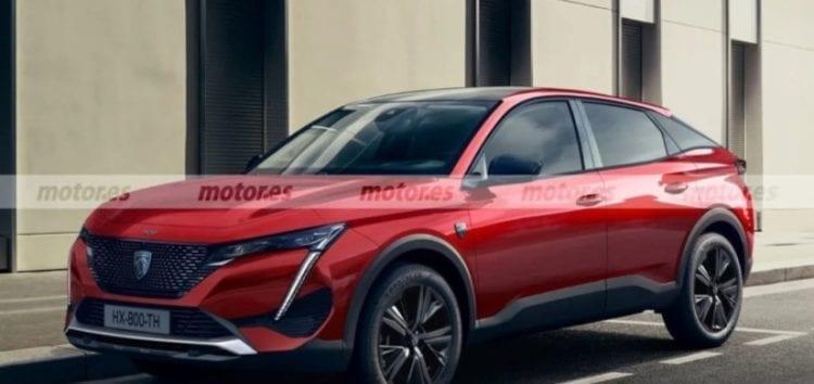 В інтернеті представили рендери нового Peugeot 308 Cross 2022