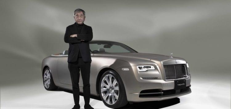 Rolls-Royce Dawn стилізували під японський пентхаус