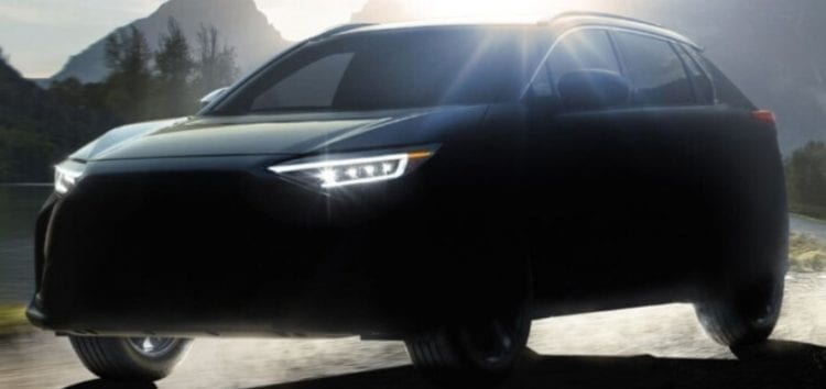 Subaru готує до випуску електрокар Solterra